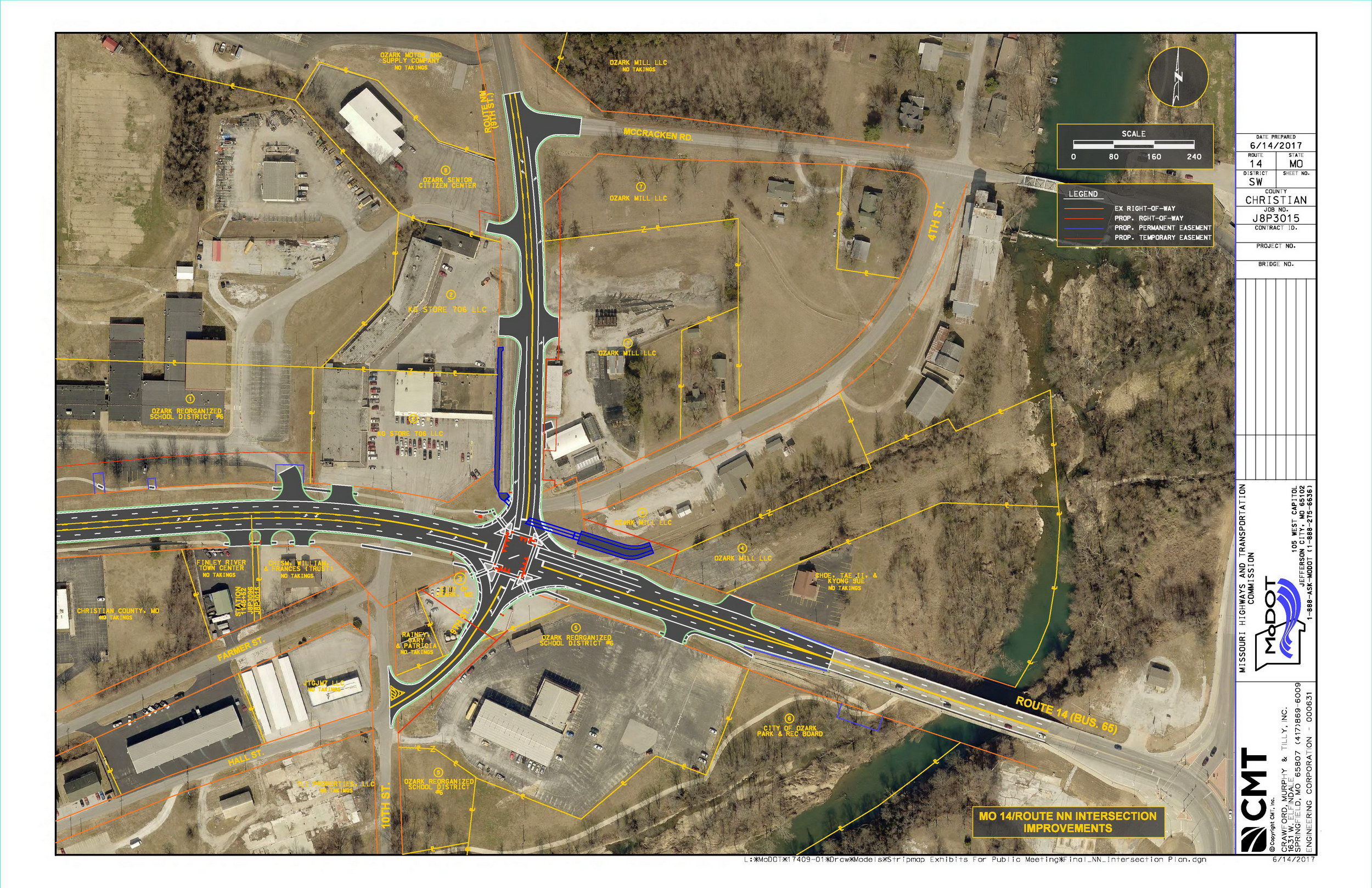 Missouri Highway Department Modot Plans To Widen Route
