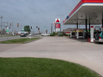 Convenience store and gas station partial taking