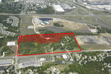 Commercial potential vacant land